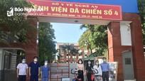 Sở Văn hóa và Thể thao Nghệ An tặng quà các bệnh viện dã chiến