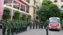 16 Quân y Bộ đội Biên phòng tăng cường đội cơ động phòng chống dịch