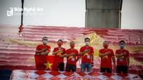 Tuyển Việt Nam được tiếp sức bởi điều đặc biệt từ cổ động viên