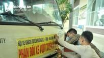 Nghệ An: Hàng loạt xe khách tuyến đường 7 bãi bến để phản đối xe dù, xe vượt tuyến