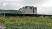 Nghệ An: Nhiều cụm công nghiệp vẫn chưa có hệ thống xử lý nước thải