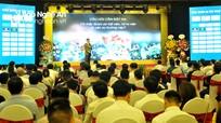 Gần 300 doanh nhân tham gia talkshow 'Vẽ lại tương lai' tại TP. Vinh