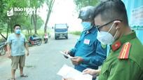 Phát hiện nhiều vi phạm nhằm 'lách' chốt kiểm soát dịch Covid-19 ở TP Vinh