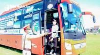 Nghệ An tạm dừng tuyến vận tải hành khách đi, đến 15 tỉnh, thành