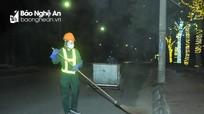 Tiếng chổi khua trong đêm cách ly ở thành Vinh