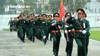 Lực lượng vũ trang Nghệ An ra quân huấn luyện năm 2018