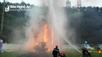 Điện lực miền Bắc diễn tập cứu nạn, cứu hộ tại Nghệ An
