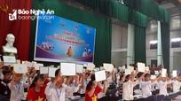 """Hàng trăm học sinh ở Yên Thành dự Hội thi """"Rung chuông vàng"""""""
