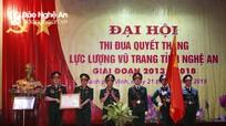 Lực lượng vũ trang Nghệ An đón nhận Huân chương Bảo vệ Tổ quốc hạng Nhất