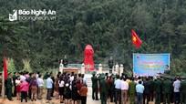 Nghệ An: Khánh thành bia tưởng niệm anh hùng Và Bá Giải