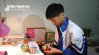 Cậu học trò miền núi đạt 2 giải cao trong kỳ thi học sinh giỏi tỉnh