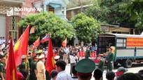 Nghệ An đón gần 100 hài cốt liệt sỹ hy sinh ở Lào về nước