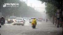 Thời tiết ngày 01/08:  Nghệ An có mưa vừa, mưa to, có nơi mưa rất to và dông