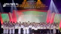 Nghệ An chính thức công bố danh sách 43 học sinh điểm cao được tuyên dương