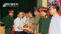 Nghệ An khen thưởng 20 cá nhân, tập thể trong công tác quốc phòng toàn dân