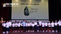 Hội đồng hương Nghệ Tĩnh tại Hà Nội khen thưởng các sinh viên xuất sắc