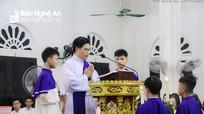 Giáo xứ Lập Thạch tổ chức thánh lễ tuần chầu lượt