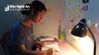 Bí quyết học giỏi của nữ sinh có điểm thi khối C cao nhất Nghệ An