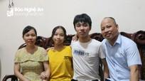 Nam sinh trường Phan cao điểm nhất khối B Nghệ An với khát khao nối nghiệp bố