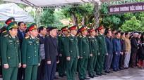 Xúc động lễ an táng Thượng tá hy sinh khi cứu nạn ở thủy điện Rào Trăng 3