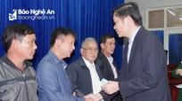 Lãnh đạo tỉnh Nghệ An thăm hỏi 22 gia đình liệt sỹ hy sinh ở Quảng Trị
