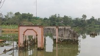 Nghệ An: Thủy điện khảo sát thiếu chính xác, hàng loạt nhà dân, mồ mả ngập sâu dưới lòng hồ