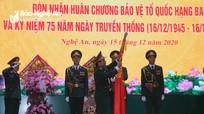 Cục Chính trị Quân khu 4 đón nhận Huân chương Bảo vệ Tổ quốc hạng Ba