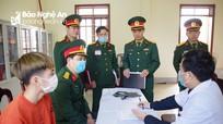 Nghệ An tổ chức hội nghị hiệp đồng giao nhận quân năm 2021