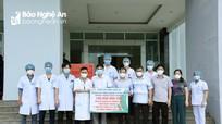 Hà Tĩnh cảm ơn Nghệ An hỗ trợ chống dịch Covid-19