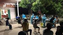 Cách ly xã hội 4 thôn ở Nghi Lộc vì cặp vợ chồng nhiễm Covid-19