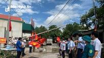 Thêm nhiều địa phương ở Nghệ An được dỡ phong tỏa
