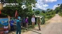 Thêm một bản vùng cao ở Nghệ An bị cách ly y tế