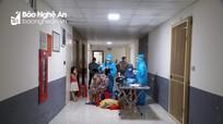 Thành phố Vinh hoàn thành việc xét nghiệm diện rộng cho toàn dân