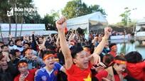 Những điểm xem chung kết U23 tập trung ở Nghệ An