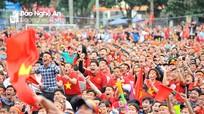 Những màn cổ vũ U23 ấn tượng của cổ động viên Nghệ An