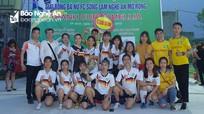 Hội CĐV xứ Nghệ lần đầu tiên tổ chức giải Bóng đá nữ mở rộng