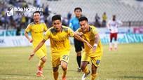 Hạ Hải Phòng, SLNA kết thúc lượt đi V.League bằng 2 trận thắng
