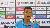 Tiền đạo Anh Đức bảo vệ đàn em Đức Chinh, Tiến Linh trước trận quyết đấu Malaysia