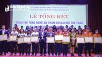Nghệ An tổng kết Đại hội TDTT toàn quốc lần thứ VIII năm 2018