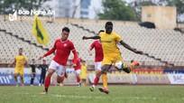 Sông Lam Nghệ An thắng giao hữu Hồng Lĩnh Hà Tĩnh 3 - 2 trên sân Vinh