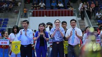 Hàng trăm võ sĩ Nghệ An tranh tài với Thái Lan, Lào tại Giải Karate trẻ