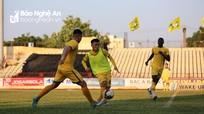 Sông Lam Nghệ An hướng tới trận đấu thứ 8 sạch lưới tại V.League 2019