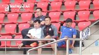 CLB TP Hồ Chí Minh cử người 'do thám' buổi tập của SLNA
