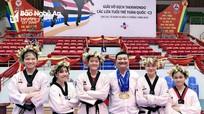 Đoàn Nghệ An đoạt 2 HCV tại Giải Vô địch Taekwondo trẻ toàn quốc