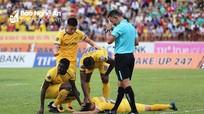 Hàng loạt cầu thủ SLNA gặp chấn thương trước trận Hải Phòng