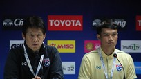 HLV Akira Nishino tự tin về khâu dứt điểm của hàng hậu vệ và tiền vệ ĐT Thái Lan