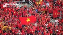 Những hình ảnh đẹp trận Thái Lan - Việt Nam