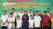 Khởi tranh Giải quần vợt trẻ xuất sắc toàn quốc năm 2019 tại Nghệ An