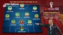 Nhận định trận tuyển Việt Nam - Thái Lan: Công Phượng đá chính?