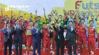 Loạt luân lưu cân não khép lại Giải Futsal Cúp Quốc gia 2019 tại Nghệ An